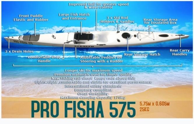 Stealth, Profisha, 575, Fishing Kayak, Durban, South Africa,