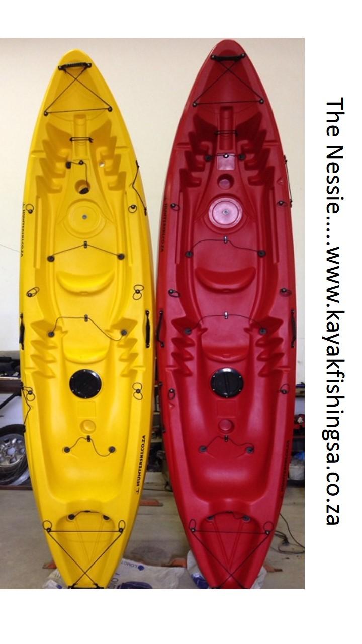 Nessy, Double, Kayak, Hunterski, Hunter Ski, South Africa,