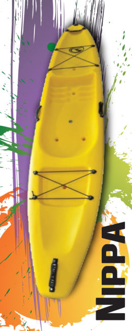 Stealth Nippa Childrens Plastic Kayak