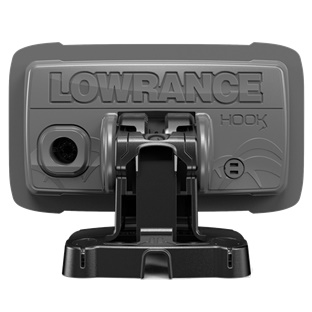 Lowrance HOOK² 4x rear view Kayak Fish Finder GPS Chart Plotter