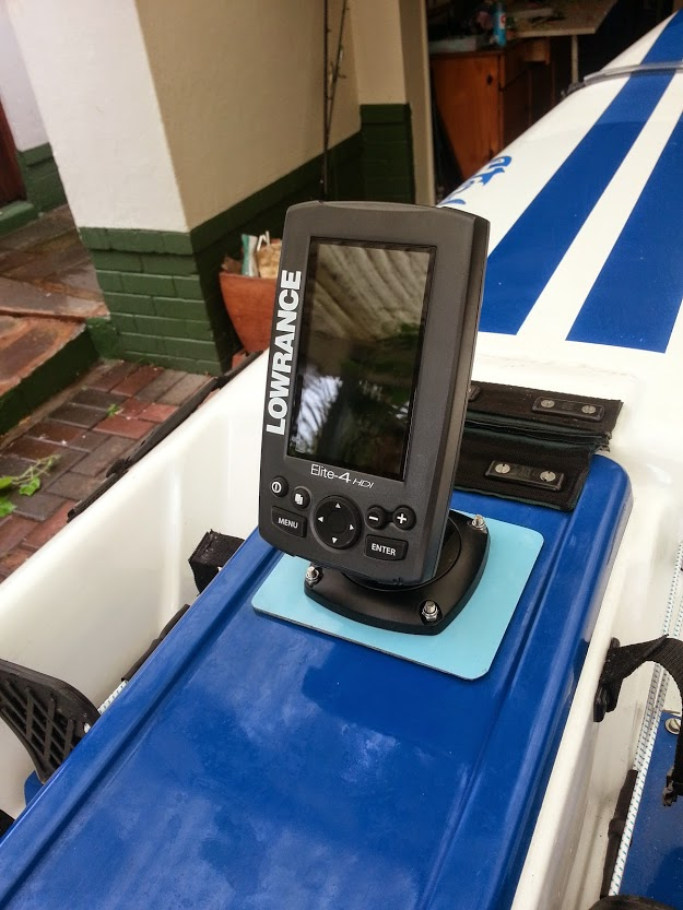 Lowrance, Elite4, Elite 4, HDI Kayak, Fish Finder, Sonar, South Africa,