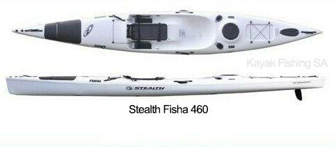 Stealth Fisha 460 Kayak