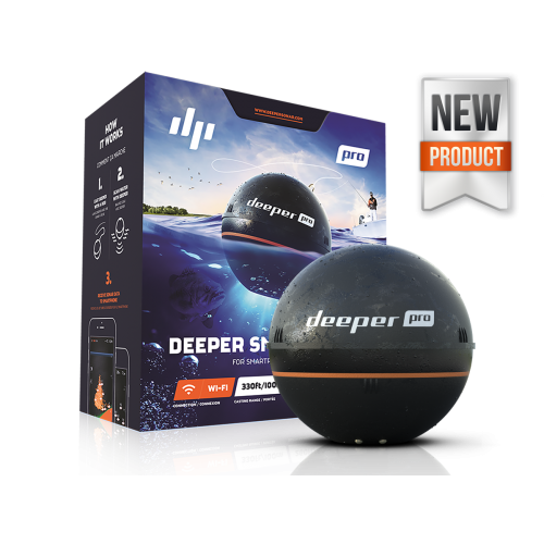 Deeper Smarter Pro + Fishfinder Kayak Fish Finder