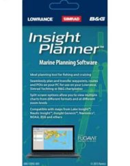 Lowrance Insight Planner Marine Planning Software Waypoint Management