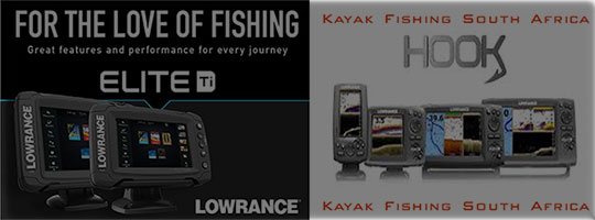 Fish Finders and GPS for Kayak Fishing South Africa