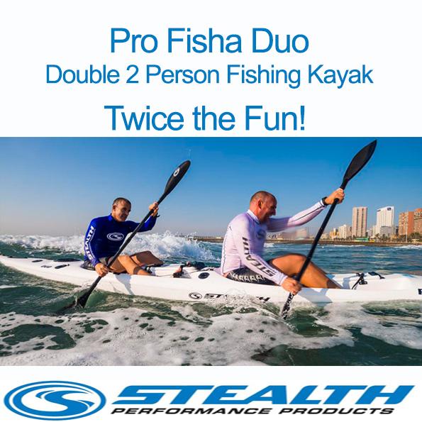Stealth Pro Fisha Duo Kayak