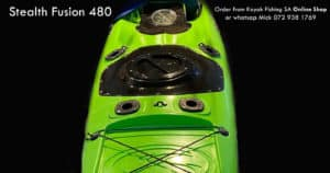 Stealth Fusion 480 Plastic Fishing Kayak