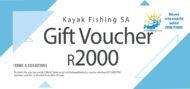 Kayak Fishing Voucher