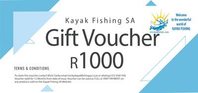Kayak Fishing Voucher R10000