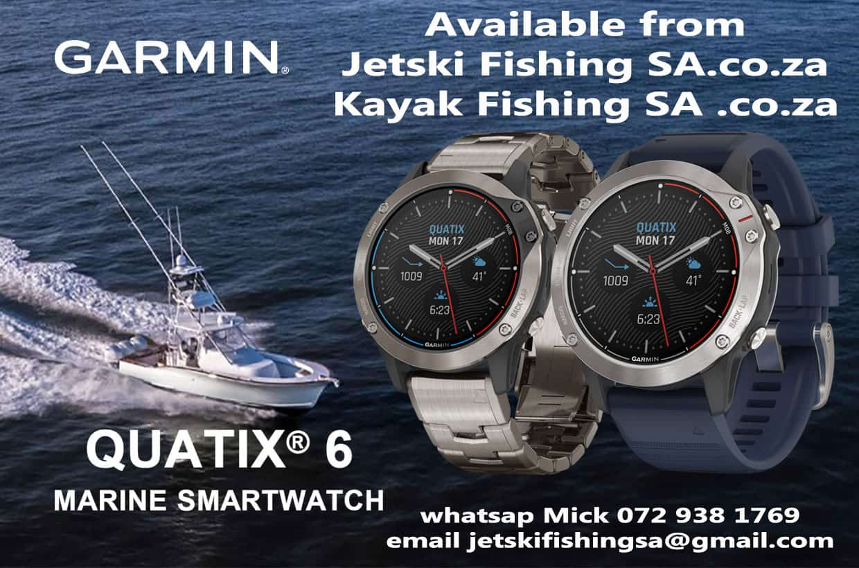 Garmin QUATIX® 6 SERIES Marine WatchIntroducing the Garmin quatix® 6 Marine Watch Series ⌚️?